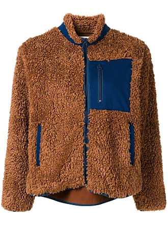 Ymc You Must Create faux-shearling jacket - Brown
