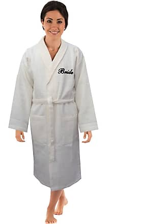 c0e8262a6f Bang Tidy Clothing Personalised Bathrobes Waffle Embroidered Dressing Gowns  for Bride to be on Wedding Day