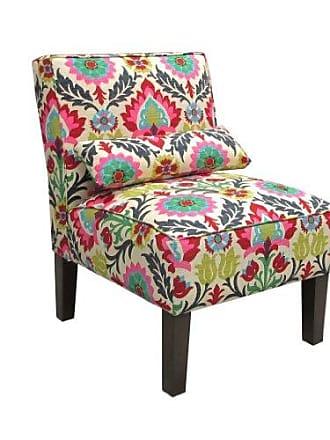 Skyline Furniture Skyline Furniture Armless Chair in Santa Maria Desert Flower