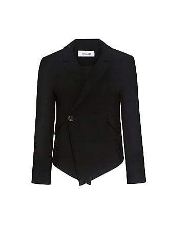 Derek Lam Easy Fluid Asymmetric Blazer Black