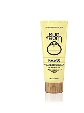 Sun Bum Face Lotion SPF 50 |Oil Free and Dermatologist Tested for Sensitive Skin| Reef Friendly Broad Spectrum UVA/UVB Protection |Water Resistant| Gluten Free, Vegan | 3 OZ Bottle