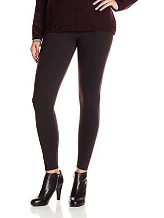 Maidenform Womens Maidenform Fat Free Dressing Legging, Black, Large