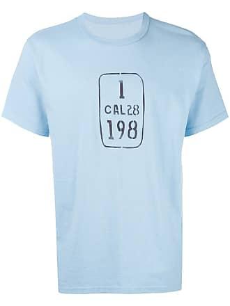 Visvim Camiseta com estampa - Azul