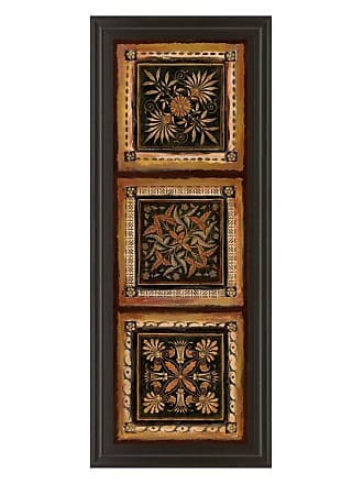Classy Art Folk Art Panel I Framed Wall Art - 18W x 42H in. - 1157