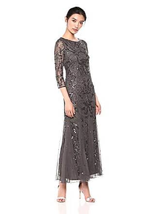 ff7f4650251 Pisarro Nights Womens Long Beaded Dress with Boat Neck and Godet Skirt