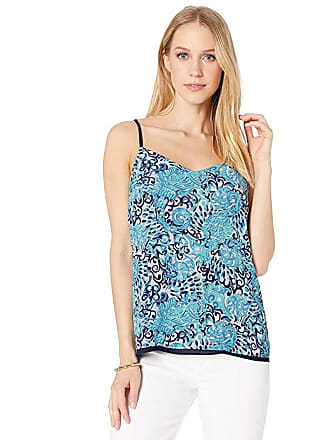 294c60388aa5ca Lilly Pulitzer Dusk Top (Light Aqua Spritz) Womens Clothing