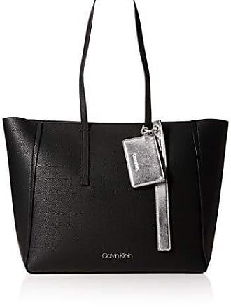 59df4bd3f2 Calvin Klein Jeans Ck Base Large Shopper, Sacs portés épaule femme, Noir  (Black