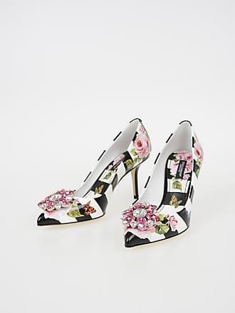 c7410d3385ee9 Dolce   Gabbana Decolleté BELLUCCI in Pelle Stampata 8 CM taglia 36