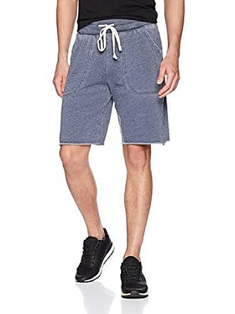 Alternative Mens Light French Terry Victory Short, Dark Navy, Large
