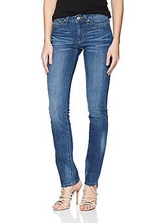 Yummie Tummie Womens Straight Jean, Classic wash, 29