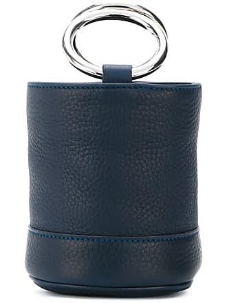Simon Miller Bolsa mini de couro - Azul