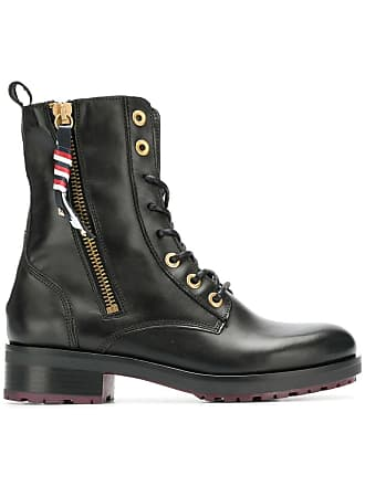 dc5b3d592cf9 Tommy Hilfiger military ankle boots - Black