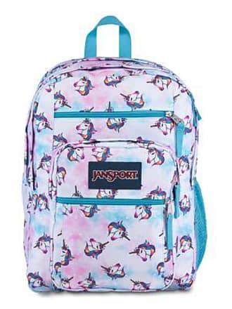 Jansport Big Student Backpacks - Unicorn Clouds