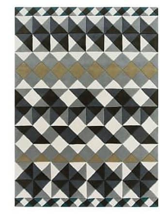 GAN Rugs Teppich Mosaiek Hand tufted Grey rug
