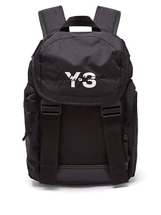 b6a44bb729 Yohji Yamamoto Xs Mobility Logo Print Backpack - Mens - Black