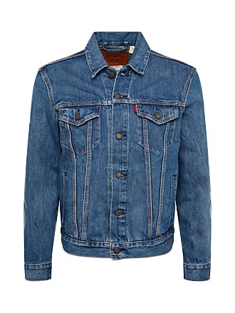 Mens Levis Denim Trucker Biker Button Up Jacket Coat M Medium Keine Kostenlosen Kosten Zu Irgendeinem Preis Clothes, Shoes & Accessories
