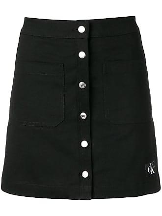 5c25be44d7 Calvin Klein Jeans button up mini skirt - Black