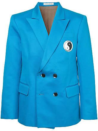 Ex Infinitas double breasted blazer - Azul