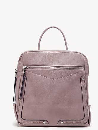 Sole Society Womens Ledo Backpack Faux Leather Mauve One Size From Sole Society