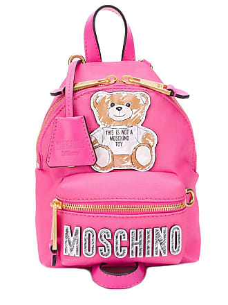 Moschino Teddy Bear patch backpack - Pink