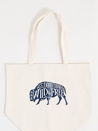 United By Blue Wild & Free Canvas Tote