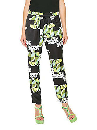 50601734cebdf Desigual Pant IOLI, Pantalon Femme, Noir (Negro), W24 (Taille Fabricant