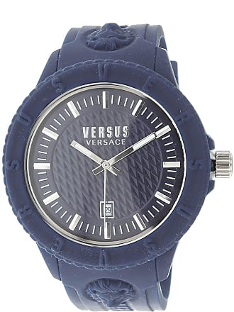 Versace Watch for Men On Sale, Blue, Rubber, 2017, One Size