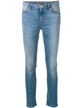 Escada Sport Calça jeans skinny cintura média - Azul