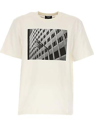 cbd0d10a04df Calvin Klein T-Shirts für Herren, TShirts Günstig im Sale, Weiss, Baumwolle