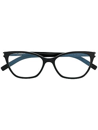 Saint Laurent Eyewear Armação de óculos SL287 Slim - Preto
