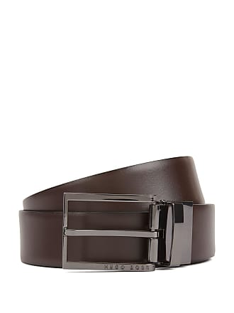 7a695283b8 BOSS Gift-boxed reversible belt in smooth and embossed leather