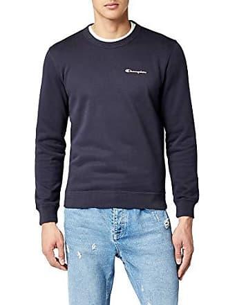c0554653e4a95 Champion Crewneck Sweatshirt-Institutionals Sudadera Azul (NNY) X-Large  para Hombre