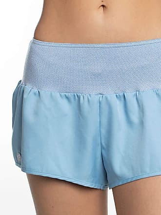 Red Nose SHORTS RNW TACTEL TRICOT COLOR SHORTS FEMININO TACTEL TRICOT COLOR - RED NOSE AZUL PP