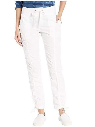 Xcvi Wearables Jules Pants in Stretch Poplin (White) Womens Casual Pants
