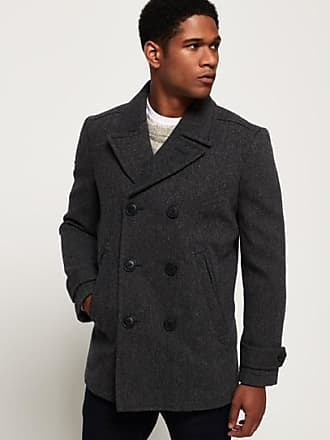 ae36ddf4e84 Pea Coats for Men in Grey − Now  Shop at £99.99+