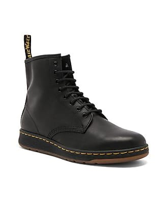 Dr. Martens Newton 8 Eye Leather Boots in Black