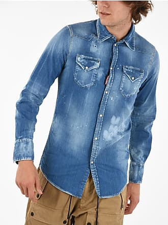 Dsquared2 Denim CLASSIC WESTERN FIT Shirt Größe 48