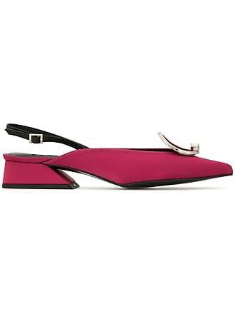 Yuul Yie ring detail slingback pumps - Pink