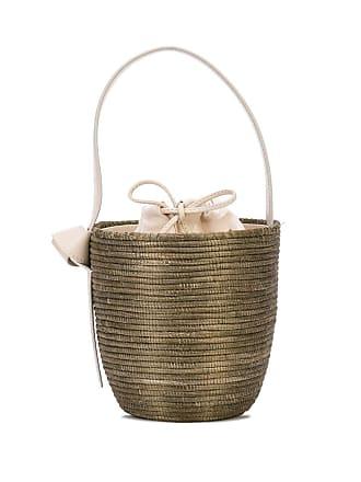 Cesta Collective woven bucket bag - Cinza
