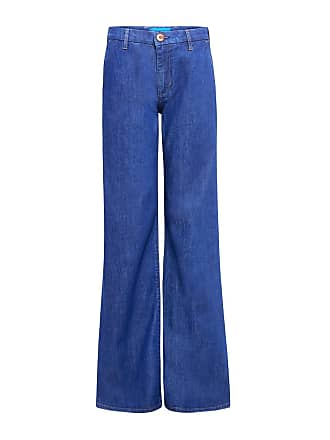 Mih Jeans Loon High Rise Flare Jeans Blue Fsb