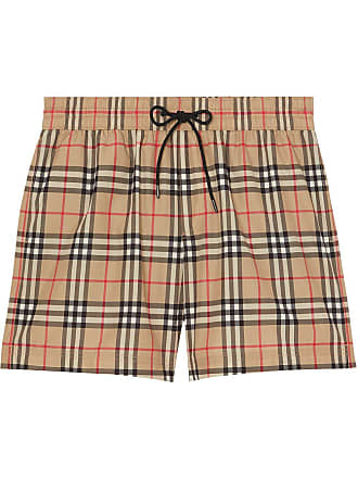 bf8e1c73f Burberry Vintage Check Drawcord Swim Shorts - Neutrals