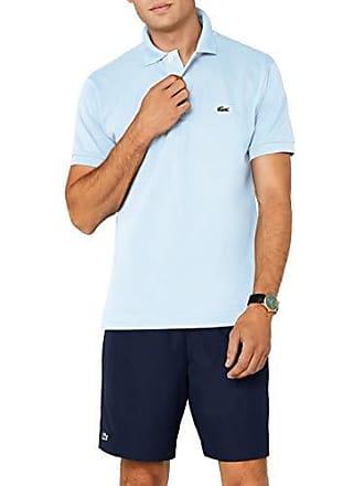 5929a82198 Lacoste L1212 - Polo - Coupe droite - Manches courtes - Homme - Bleu  (Ruisseau