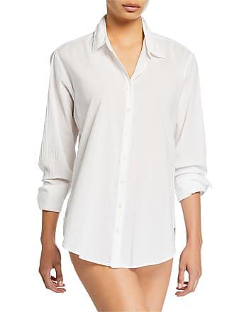 Xirena Beau Solid Poplin Lounge Shirt