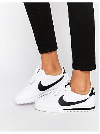 Nike Cortez - Scarpe da ginnastica in pelle bianche - Bianco f158254ebf1