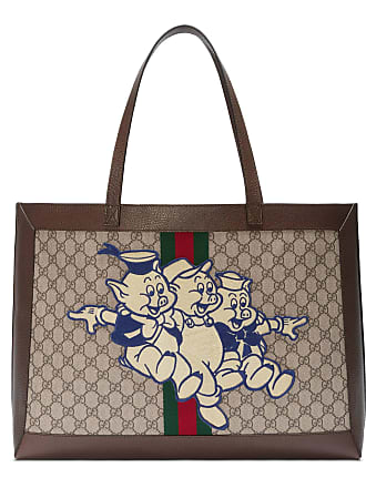 b19ec19b301 Gucci Ophidia GG tote with Three Little Pigs