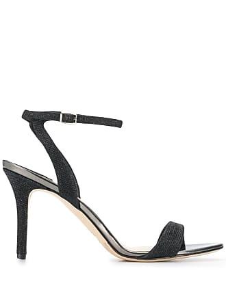 The Seller woven stiletto sandals - Preto