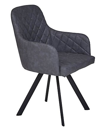 Unique Furniture Burano Eco-Leather Quebec Chair - Set of 2 - JOLL612-1