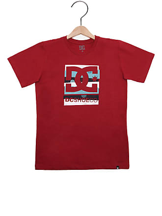 DC Camiseta DC Shoes Menino Vinho