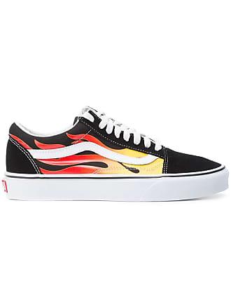 Vans fire streak lace-up sneakers - Black
