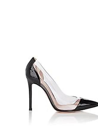 a78ca5d15 Gianvito Rossi Womens Vernice Patent Leather & PVC Pumps - Black Size 8
